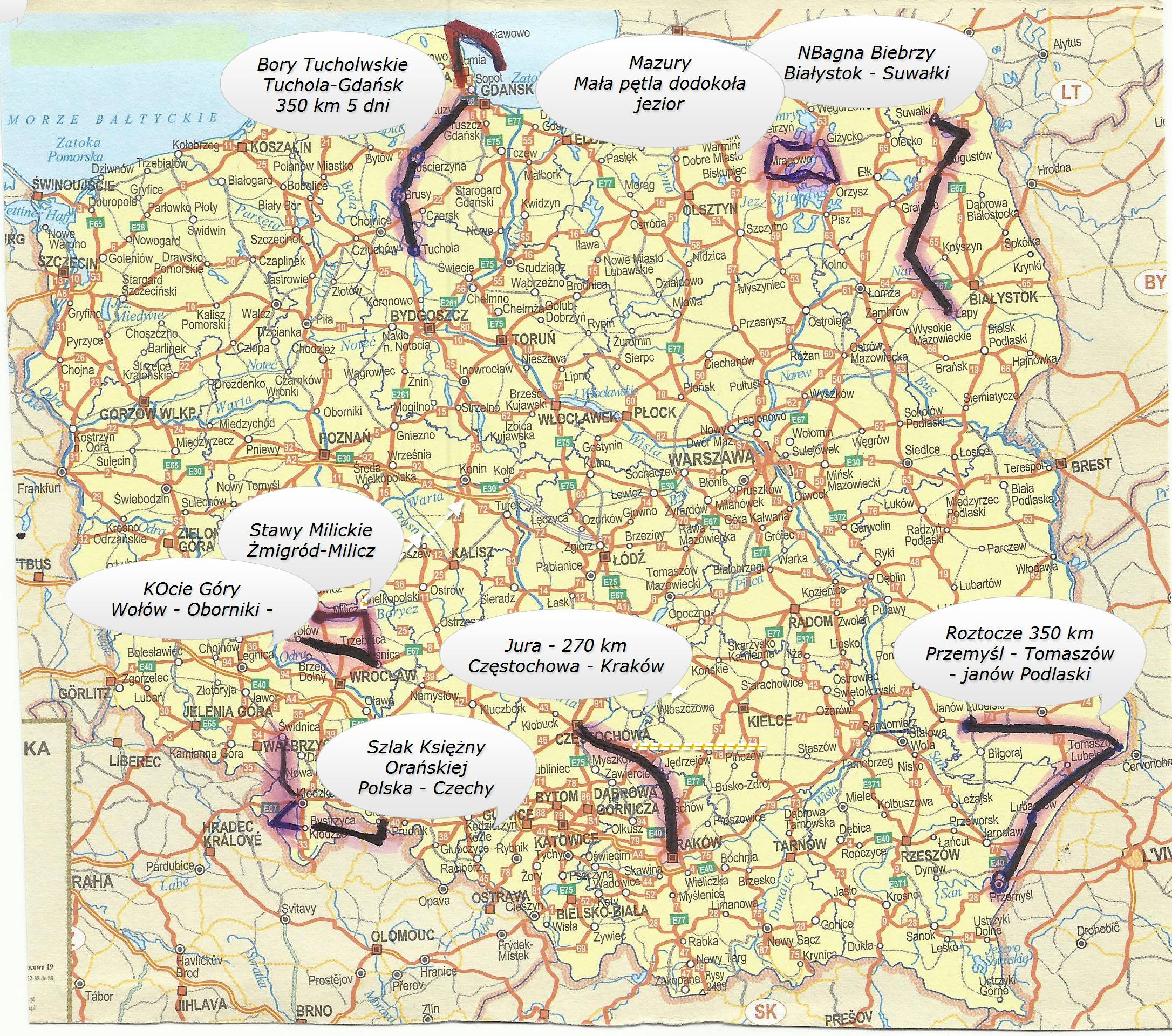 mapa polski- trasy-rower-01
